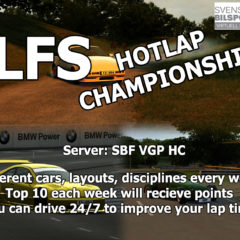 LFS Hotlap Championship 2019 has started!